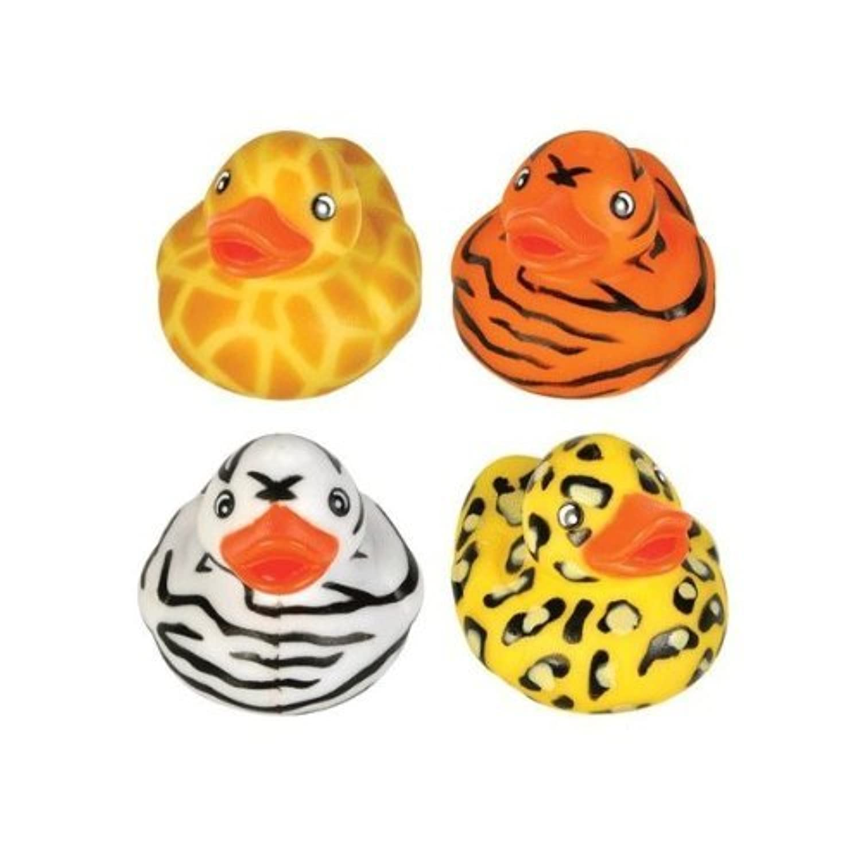 Rhode Island Novelty 2 Safari Rubber Duck (12 Piece) by Rhode Island Novelty [並行輸入品]