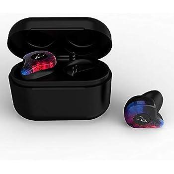 KKmoon Sabbat X12 Pro TWSワイヤレスイヤホン BT 5.0ヘッドフォン ハーフインイヤーヘッドセット 防水 スポーツイヤホン W/750 mAh充電ボックス付き