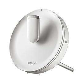 BUFFALO WiFi 無線LAN ルーター WTR-M2133HP 11ac 866+866+400Mbps トライバンド搭載 最大27台 4LDK 【iPhone8/iPhoneX/Echo メーカー動作確認済み】
