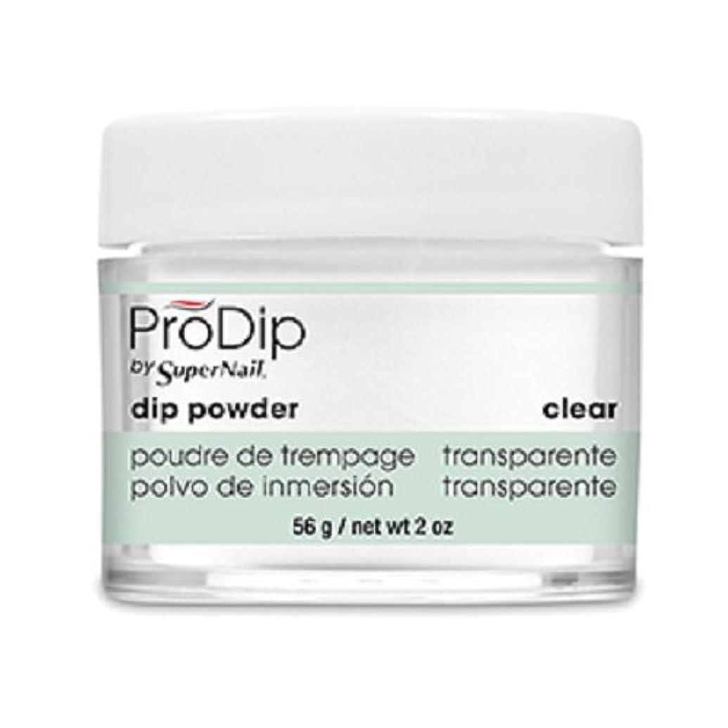 大事にする確認ディプロマSuperNail - ProDip - Dip Powder - Clear - 56 g/2 oz