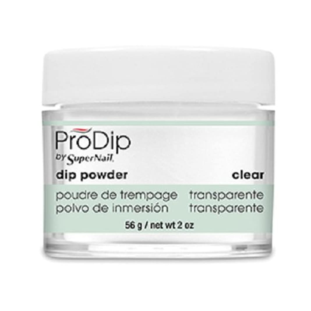 忘れられない買収疑わしいSuperNail - ProDip - Dip Powder - Clear - 56 g/2 oz