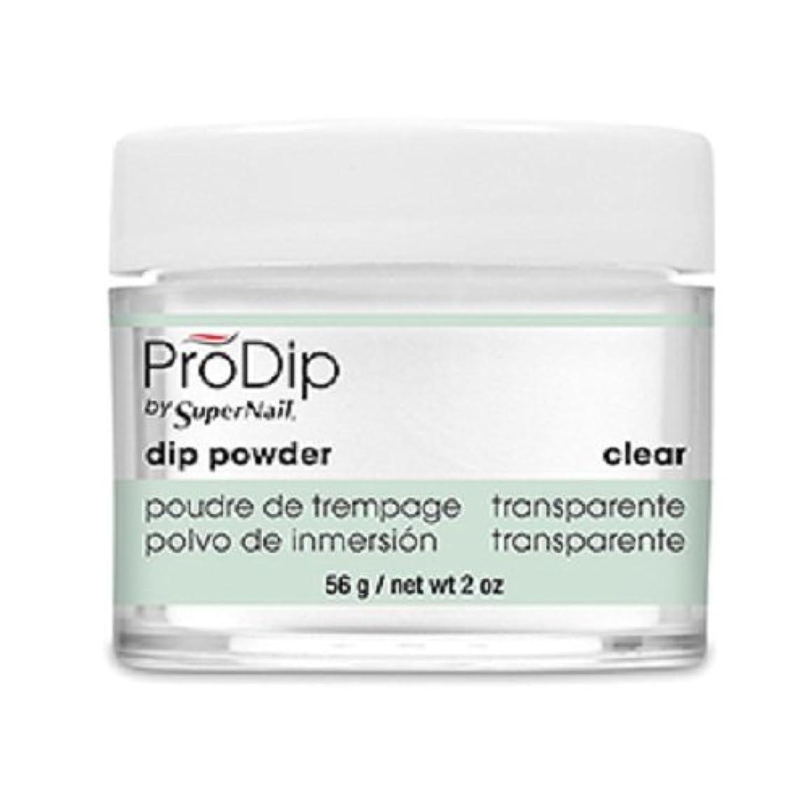 文法投資薬を飲むSuperNail - ProDip - Dip Powder - Clear - 56 g/2 oz