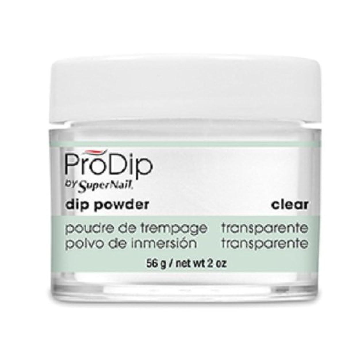 平手打ち気がついてクラウドSuperNail - ProDip - Dip Powder - Clear - 56 g/2 oz