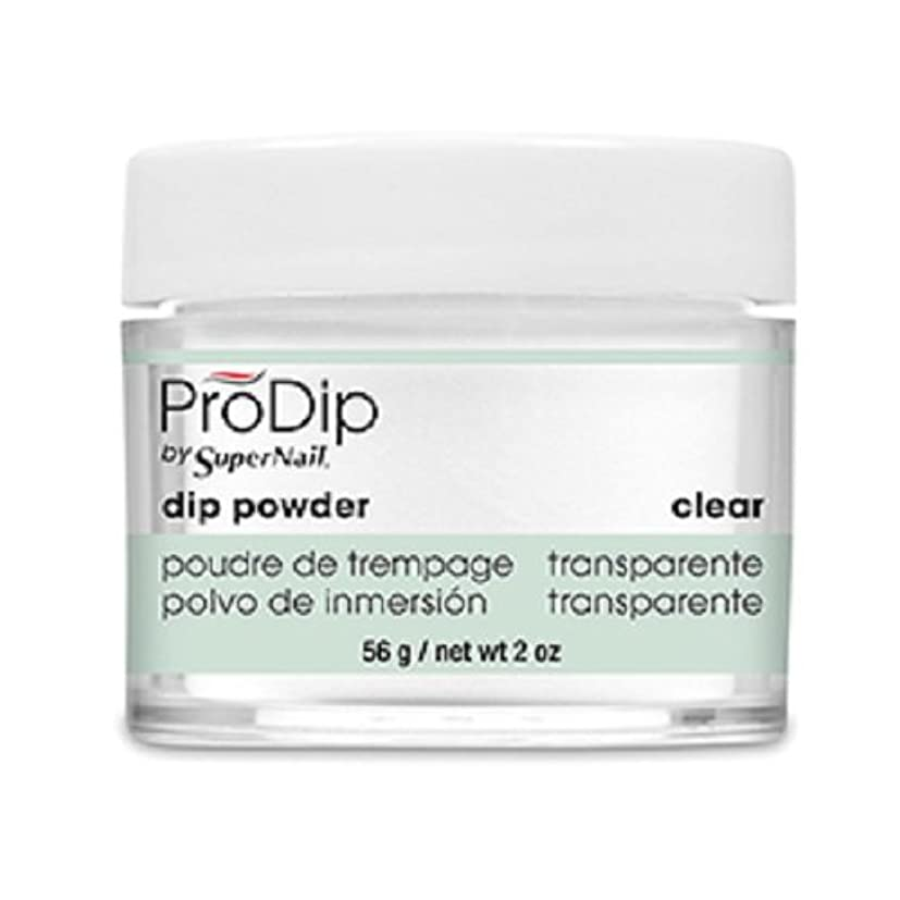 キャンプ期間新年SuperNail - ProDip - Dip Powder - Clear - 56 g/2 oz