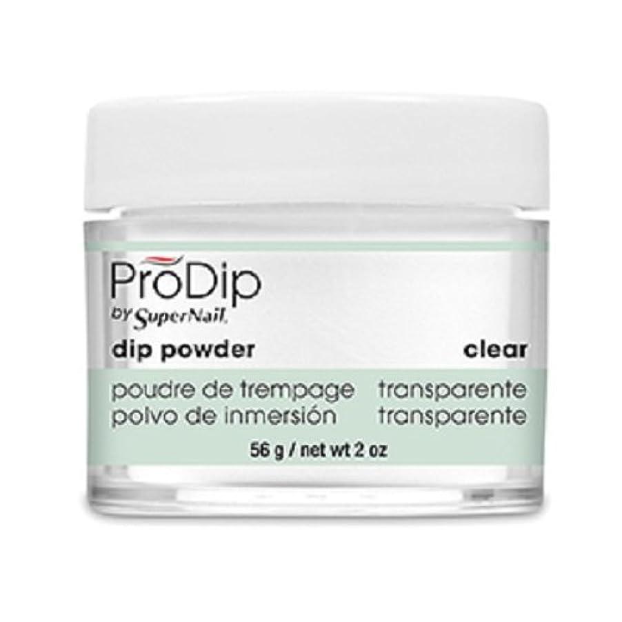 習慣高度固体SuperNail - ProDip - Dip Powder - Clear - 56 g/2 oz