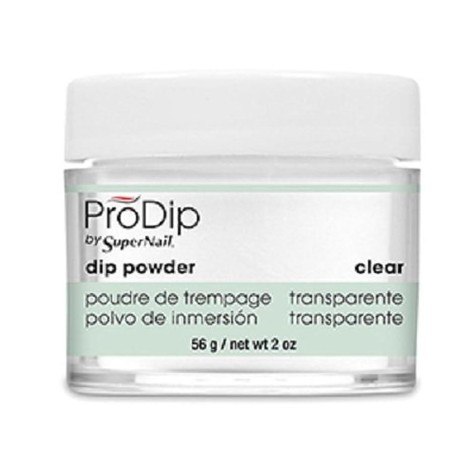 苛性バイバイラジウムSuperNail - ProDip - Dip Powder - Clear - 56 g/2 oz