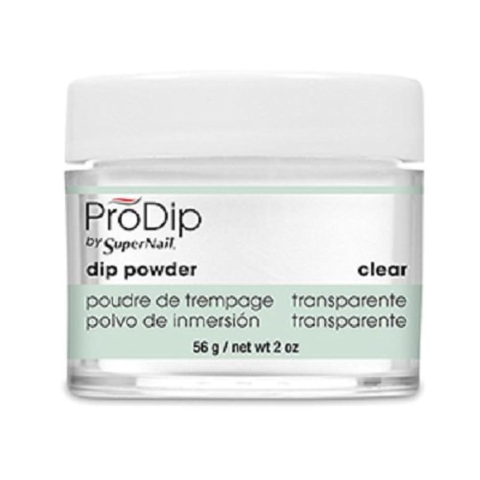心から征服する良性SuperNail - ProDip - Dip Powder - Clear - 56 g/2 oz
