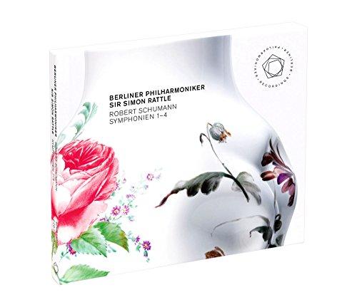 シューマン : 交響曲全集 (Robert Schumann : Symphonien 1 - 4 / Sir Simon Rattle   Berliner Philharmoniker) [2SACD Hybrid] [輸入盤]