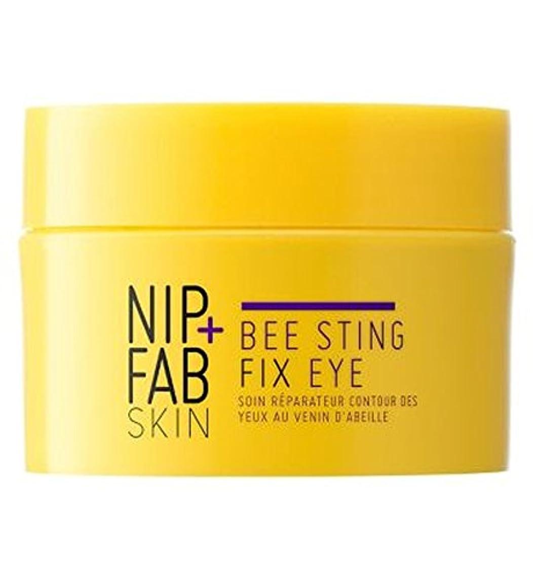 インストールリーフレット加入+ファブハチ刺されフィックス目の夜ニップ (Nip & Fab) (x2) - Nip+Fab Bee Sting Fix Eye Night (Pack of 2) [並行輸入品]