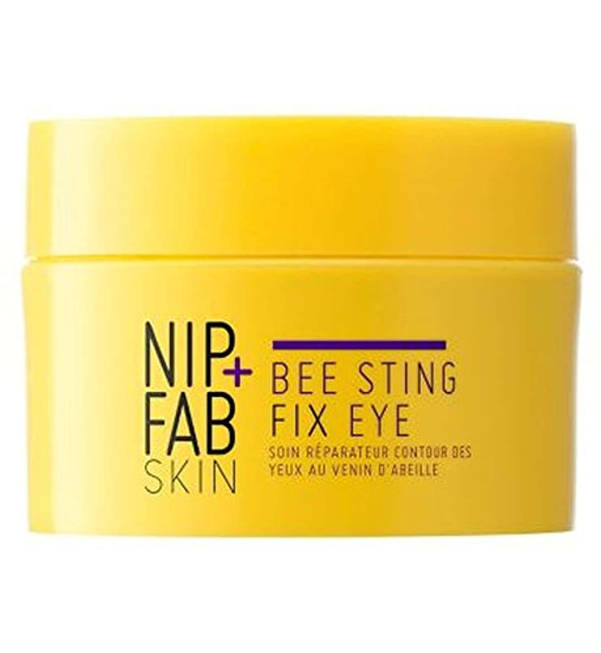 共役ダーベビルのテス本体+ファブハチ刺されフィックス目の夜ニップ (Nip & Fab) (x2) - Nip+Fab Bee Sting Fix Eye Night (Pack of 2) [並行輸入品]