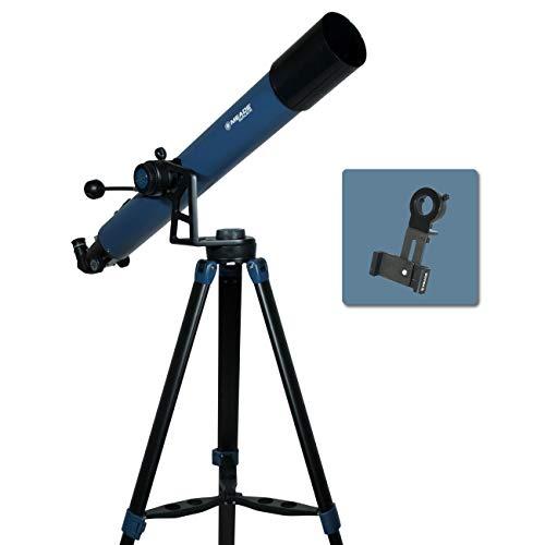 Meade Instruments Star Pro AZ屈折望遠鏡とスマートフォンアダプター