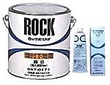 ロック ポリパテ 細目[焼付型上塗塗料対応] 4kg (硬化剤80g付)