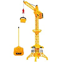 World Tech Toys King Force Crane Electric RTR RC Construction Vehicle 1:40 Scale 【You&Me】 [並行輸入品]