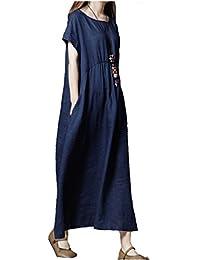 8f9e0673e5c0c Amazon.co.jp  ロング丈 - ワンピース・チュニック   ワンピース・ドレス ...