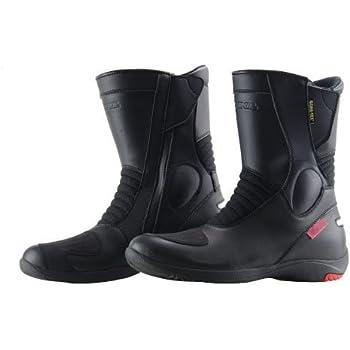コミネ KOMINE バイク ブーツ GORE-TEX (R)ショートブーツ グランデ 防水 リフレクター ブラック 26.5cm 05-070 BK-070
