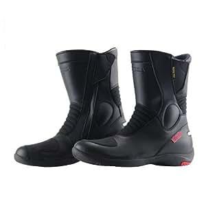 コミネ(Komine) ブーツ BK-070 GORE-TEX(R) ショートブーツ-グランデ(GRANDE) ブラック 24cm 05-070