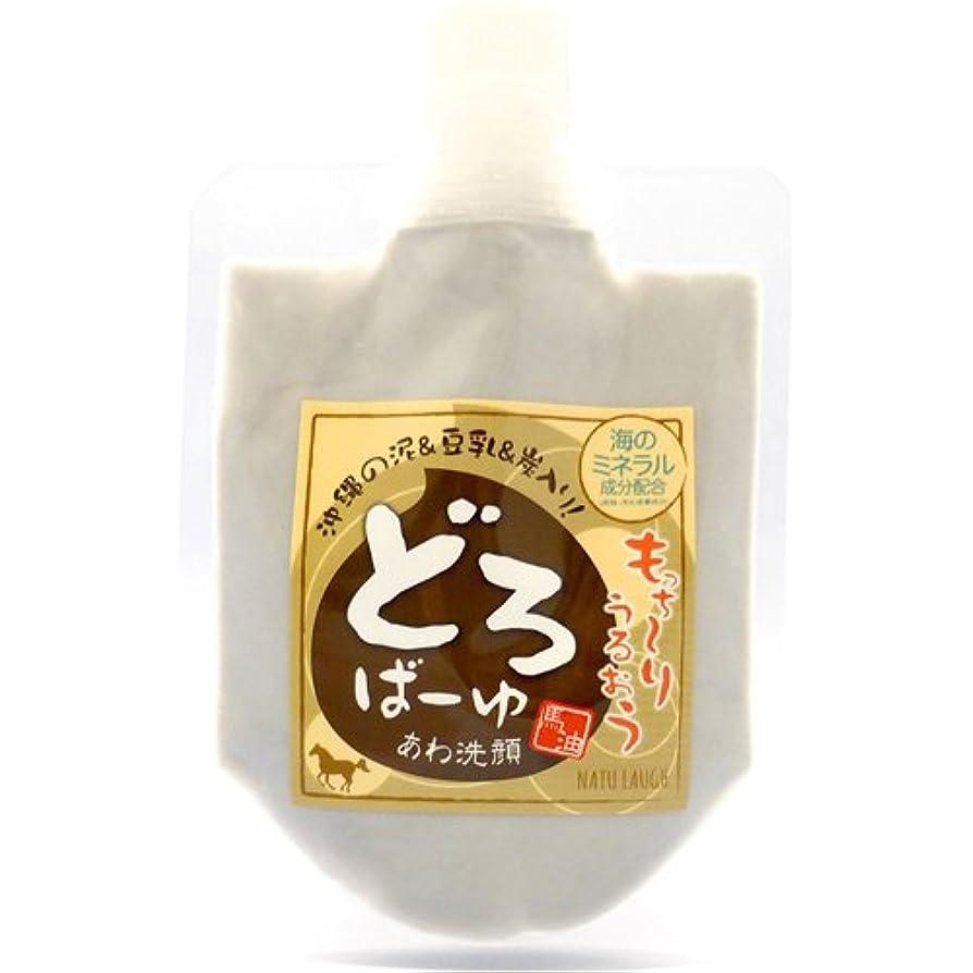伝統褐色報酬のどろばーゆ あわ洗顔 120mL(120g)