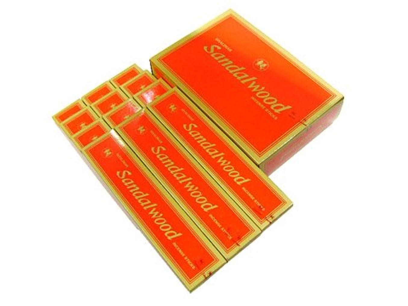 小学生酸っぱい見る人SHALIMAR(シャリマー) SANDALWOOD サンダルウッド香(レギュラーボックス) スティック 12箱セット