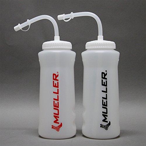 【剣道用品】面をつけたたまま水分補給!スポーツボトル(ストロー付き) (ブラック)