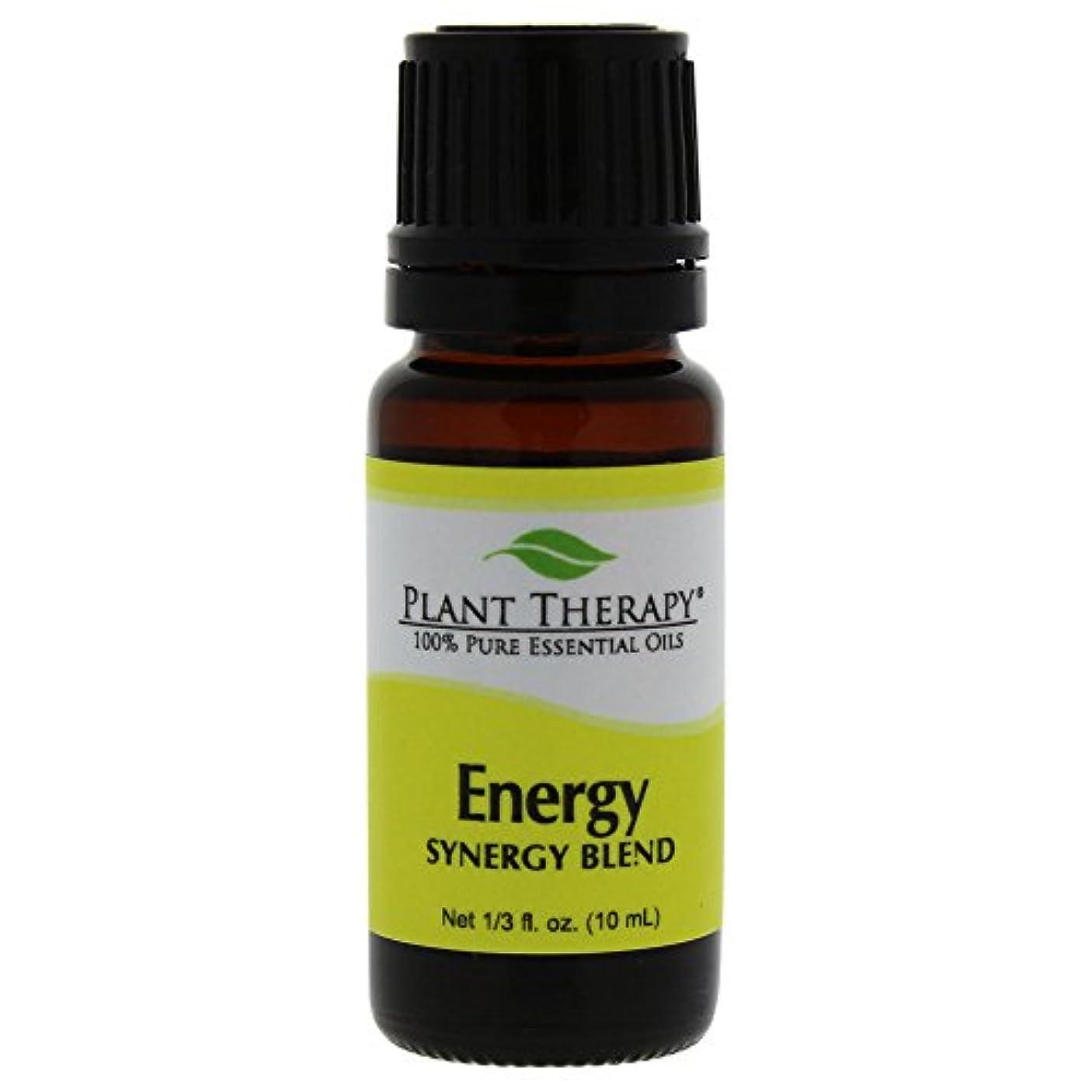 クラシック病弱ロータリーPlant Therapy Essential Oils (プラントセラピー エッセンシャルオイル) エネルギー シネジー エッセンシャルオイル ブレンド (身体的エネルギー)10 ml