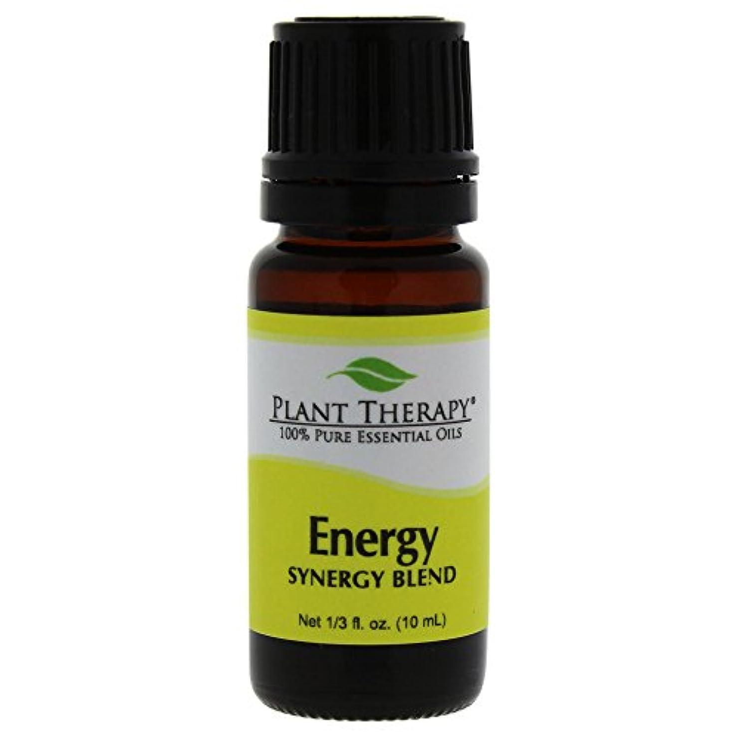 支払い祖母振るPlant Therapy Essential Oils (プラントセラピー エッセンシャルオイル) エネルギー シネジー エッセンシャルオイル ブレンド (身体的エネルギー)10 ml