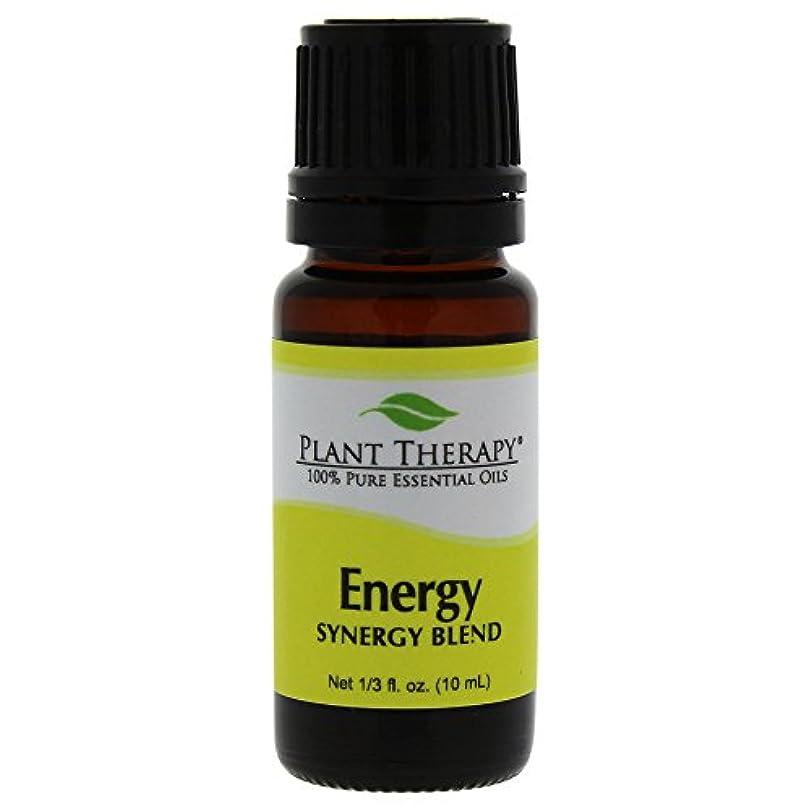 郵便局ジェムぴったりPlant Therapy Essential Oils (プラントセラピー エッセンシャルオイル) エネルギー シネジー エッセンシャルオイル ブレンド (身体的エネルギー)10 ml