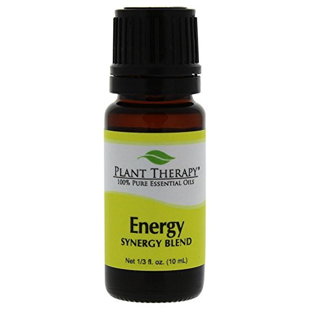 樹木靴下系統的Plant Therapy Essential Oils (プラントセラピー エッセンシャルオイル) エネルギー シネジー エッセンシャルオイル ブレンド (身体的エネルギー)10 ml