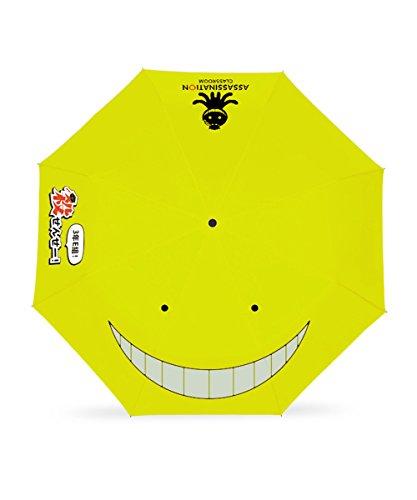 YUEDOODO   折りたたみ傘 可愛い漫画 暗殺教室 対...