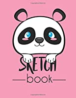 Sketch book: Cute panda cover (8.5 x 11) inches 110 pages, Blank Unlined Paper for Sketching, Drawing , Whiting ,  Doodling  & Journaling (Volume 1)