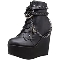 Demonia Women's Poi101/Bvl Boot