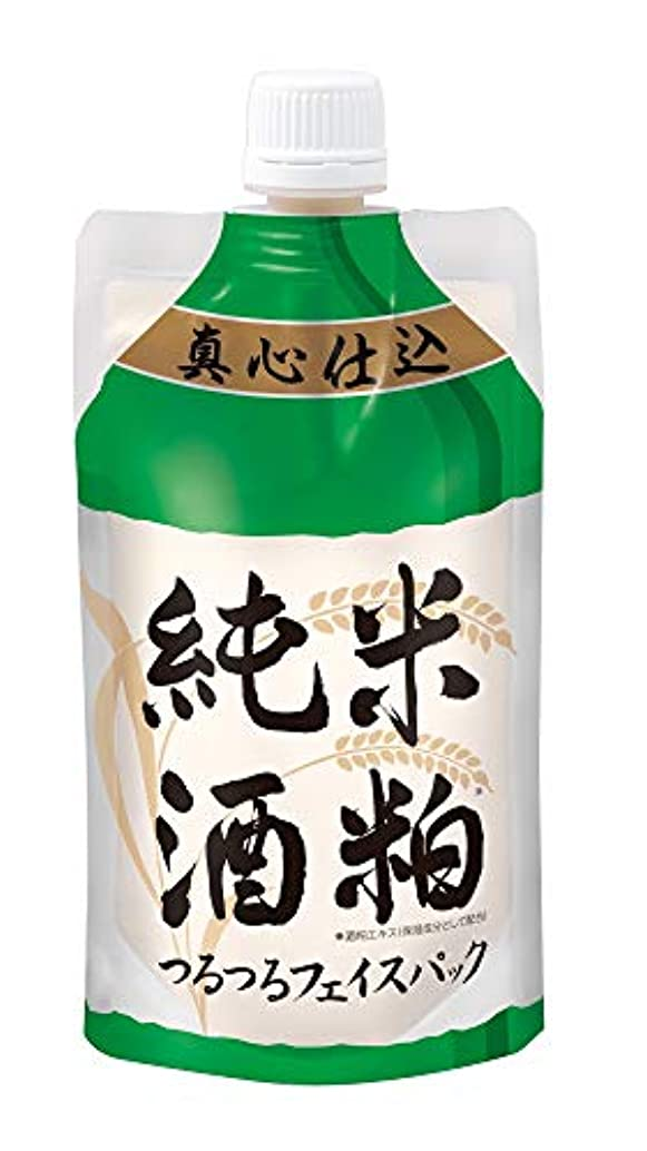 むさぼり食う遠いコーラス【酒粕パック】純米酒粕 つるつるフェイスパック 130g(洗い流すタイプ)