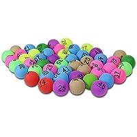 ビンゴボール 抽選 ゲーム カラフル ピンポン玉 ボール 番号付きボール 1-200
