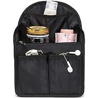 【改良版】バッグインバッグ リュック 15ポケット A4 b4 c4 収納整理 大容量 軽量 ナイロン インナーバッグ インナーポケット 収納力抜群 仕分け デイパック・ザックに便利 メンズ レディース bag in bag