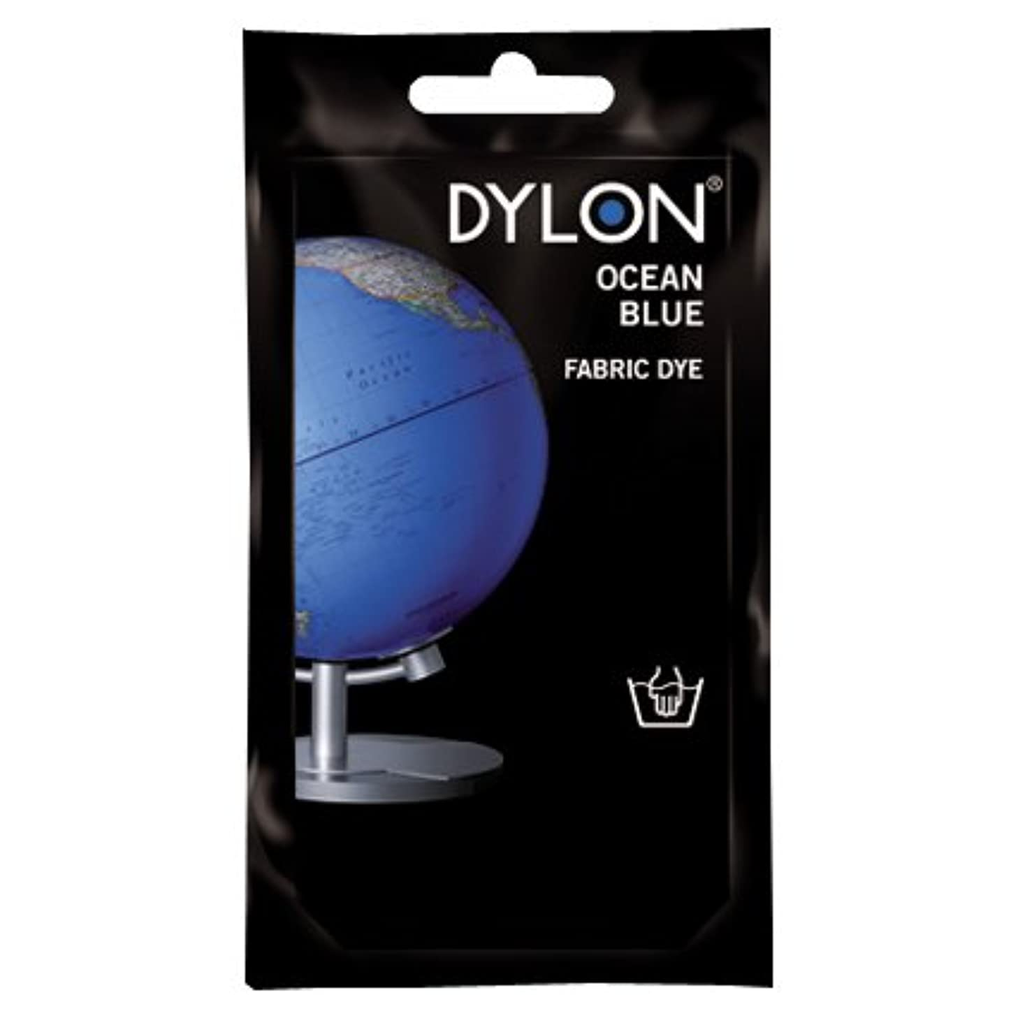 常に無声でマットレスDYLON Ocean Blue Hand Dye 50g by Dylon
