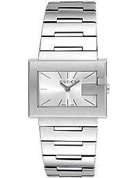 [グッチ]GUCCI 腕時計 Gレクタングル シルバー文字盤 ステンレスベルト YA100520 レディース 【並行輸入品】