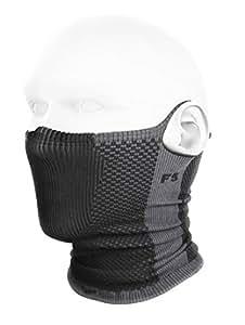 NAROO MASK F5 花粉対応フィルター付き防寒フェイスマスク (グレー)