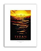NASA Space Titan Travel Canvas Art Print
