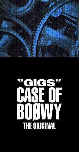 """GIGS"" CASE OF BOφWY -THE ORIGINAL-(完全限定盤)(4CD+Tシャツ+ステッカー)"