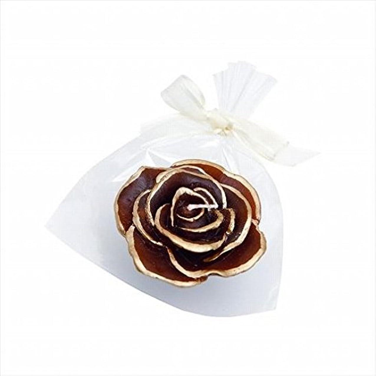 繊毛生産的強打kameyama candle(カメヤマキャンドル) プリンセスローズ 「 チョコレート 」(A6390500CH)