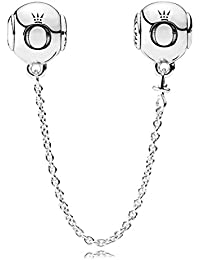PANDORA Charms Sterling Silver PANDORA ESSENCE series of silver safety chain