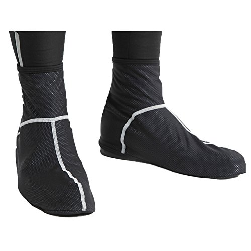 S4R(エスフォーアール) 防寒 サイクリングウェア 裏起毛 シューズカバー 防風 防水 保温効果で足下をしっかりカバー