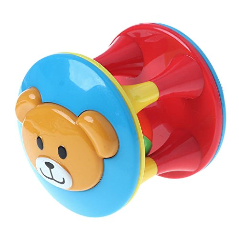 HoHome ベビー 熊 ガラガラガラ ジングルベル おもちゃ 動物 手ベル ローリング 大音量握り シェーカー 教育玩具