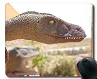 注文の元のヒョウシリーズマウスパッド、ステッチされた端が付いている恐竜恐竜マウスパッド