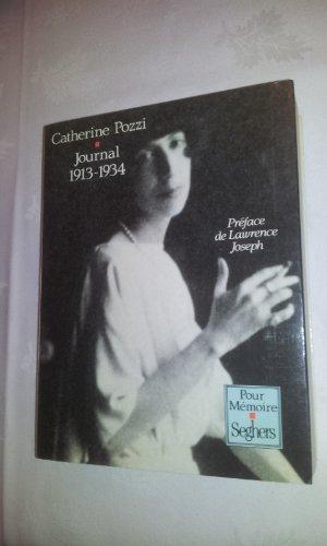Journal, 1913-1934