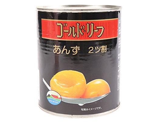 ゴールドリーフ あんず / 825g TOMIZ(富澤商店) 缶詰・瓶詰 その他缶詰・ビン詰