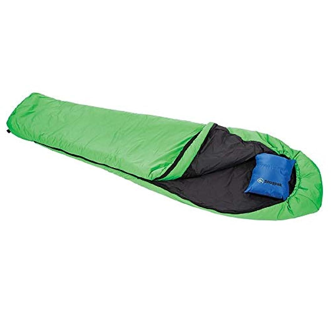 シェルター四分円非互換SnugPak Softie 9 Equinox Lh Zip Sleeping Bag, Green [並行輸入品]