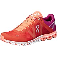 ON Women's Cloudflow Running Shoes, Spice/Flash, 8 AU/US