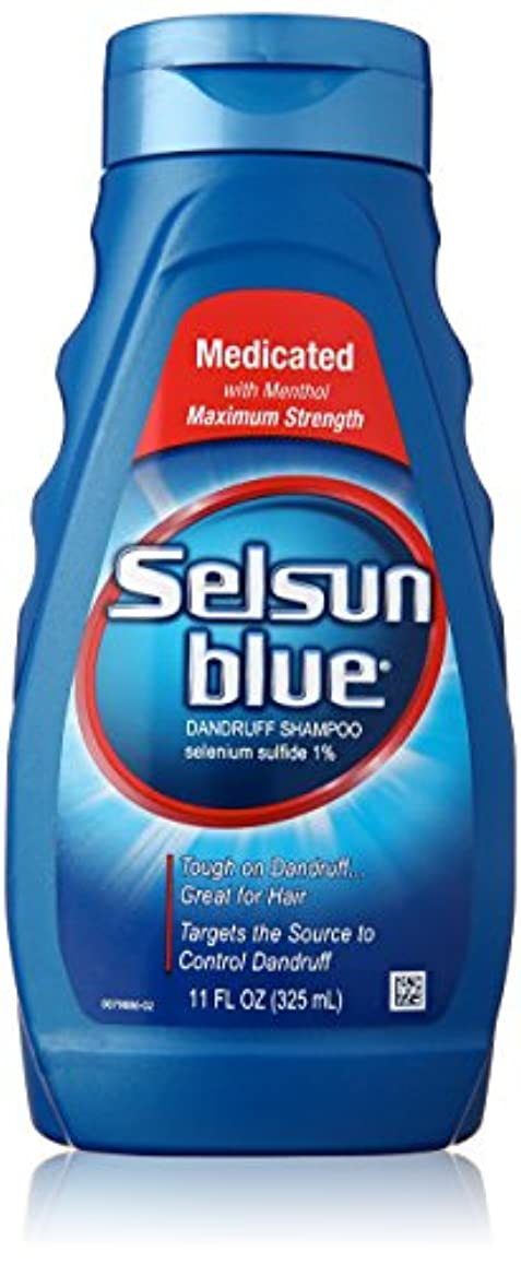 スロープゆでるチョップSelsun Blue Naturals Dandruff Medicated 325 ml (並行輸入品)