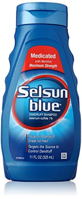 迫害メタリックトランクSelsun Blue Naturals Dandruff Medicated 325 ml (並行輸入品)