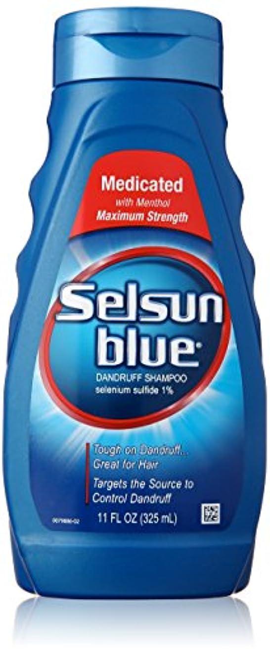 ディスク補充下るSelsun Blue Naturals Dandruff Medicated 325 ml (並行輸入品)
